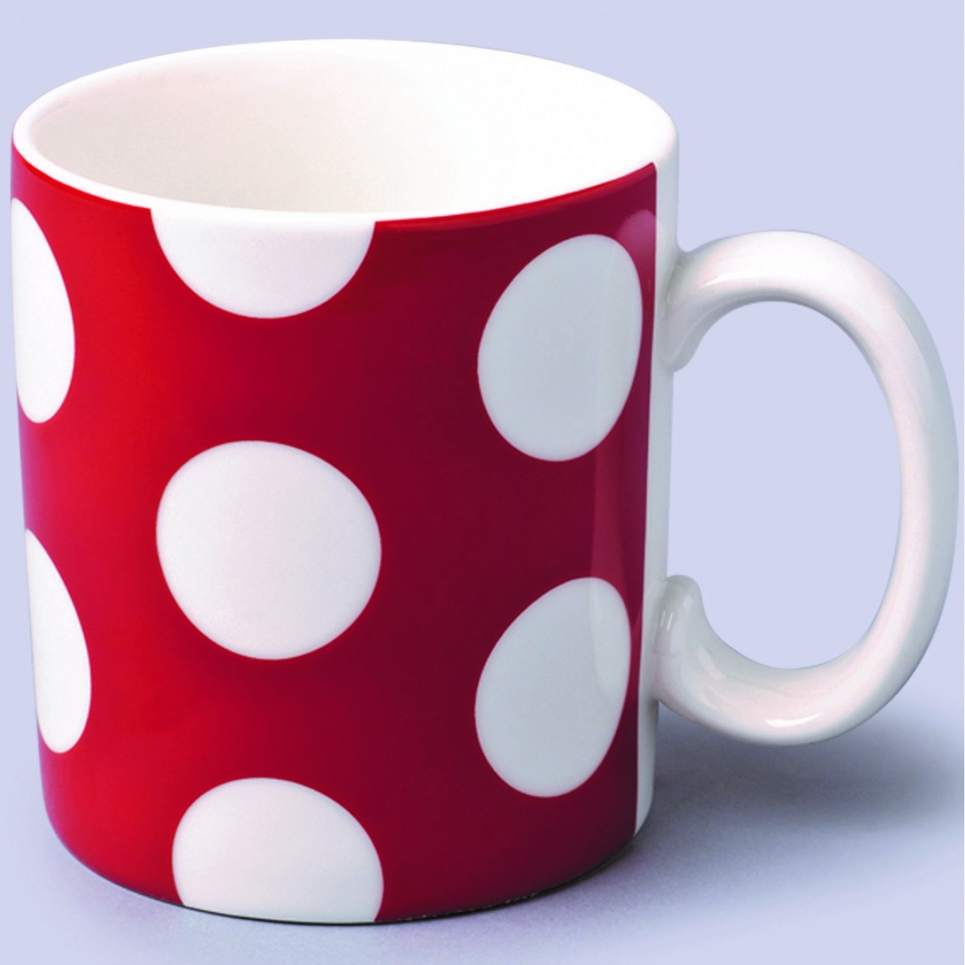 Image of 1 Pint Extra Large Mug Red Spot