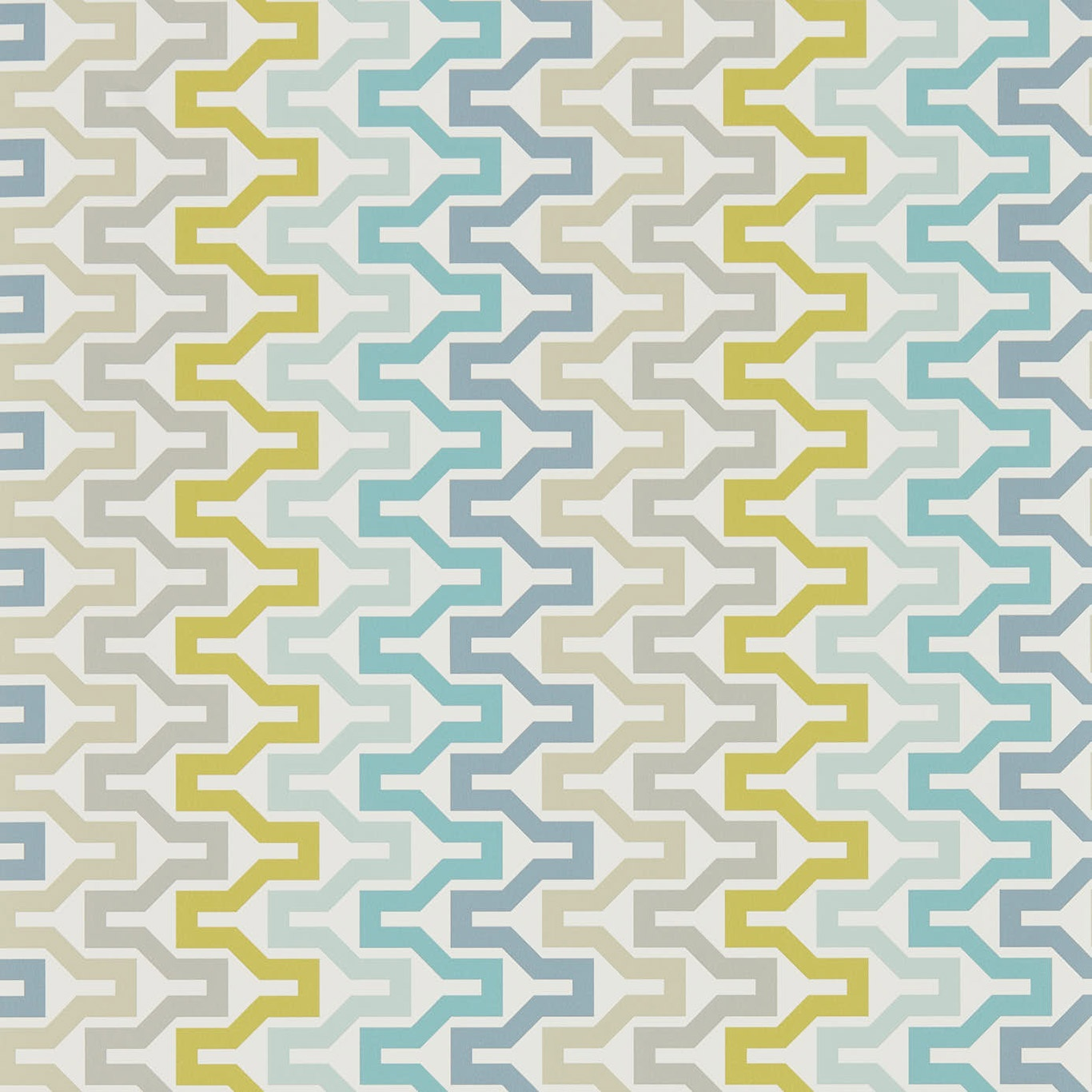 Image of Scion Sioux Marine/Midnight/Kiwi Wallpaper 111834
