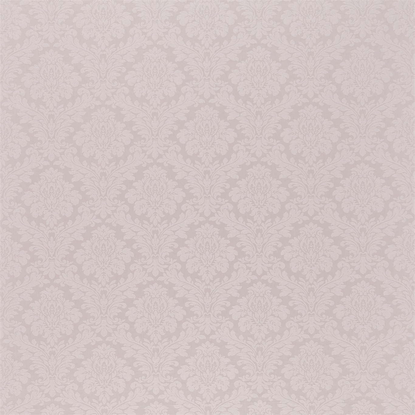 Image of Sanderson Lymington Damask Pale Lilac Fabric 232614
