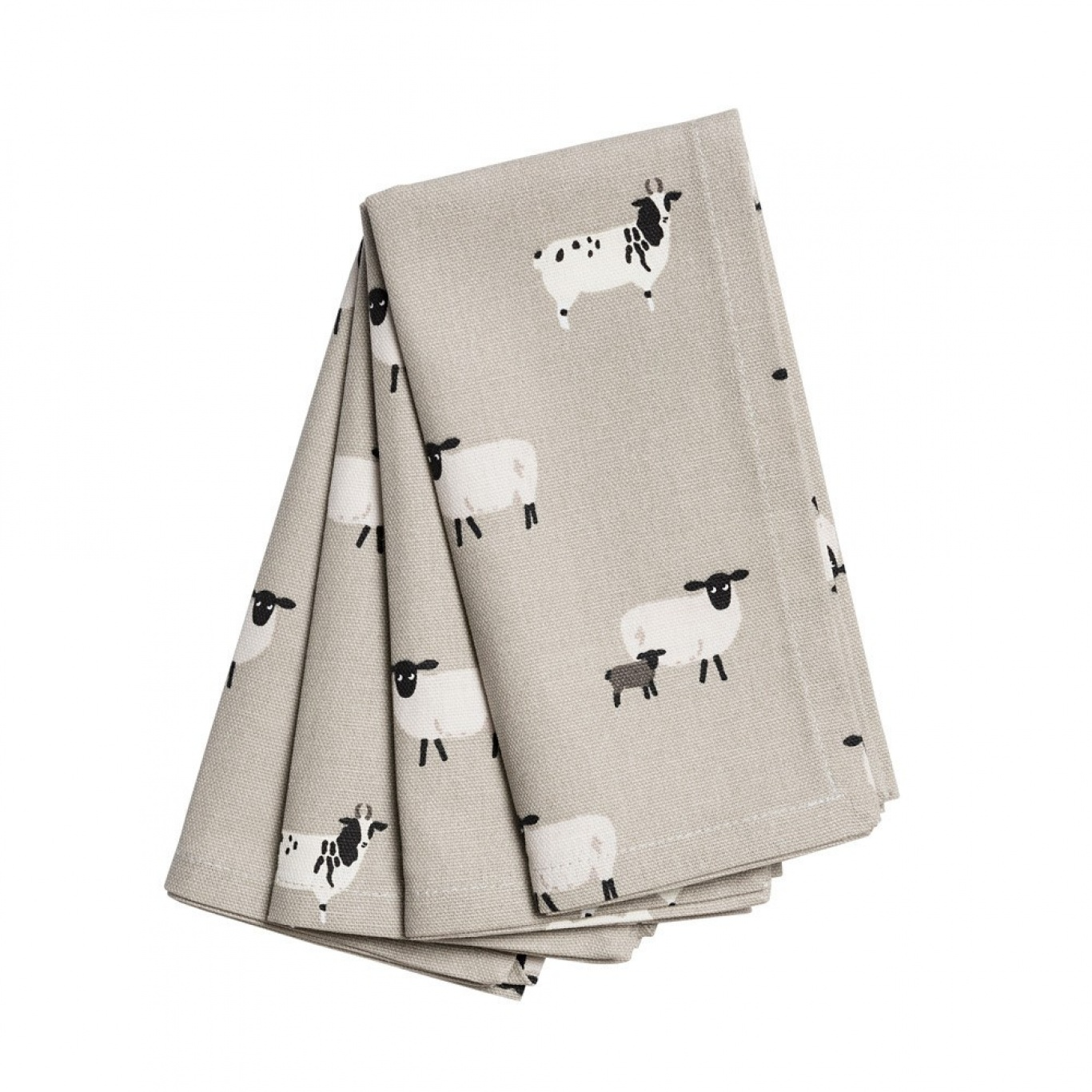 Sophie Allport Sheep Napkins Set of 4