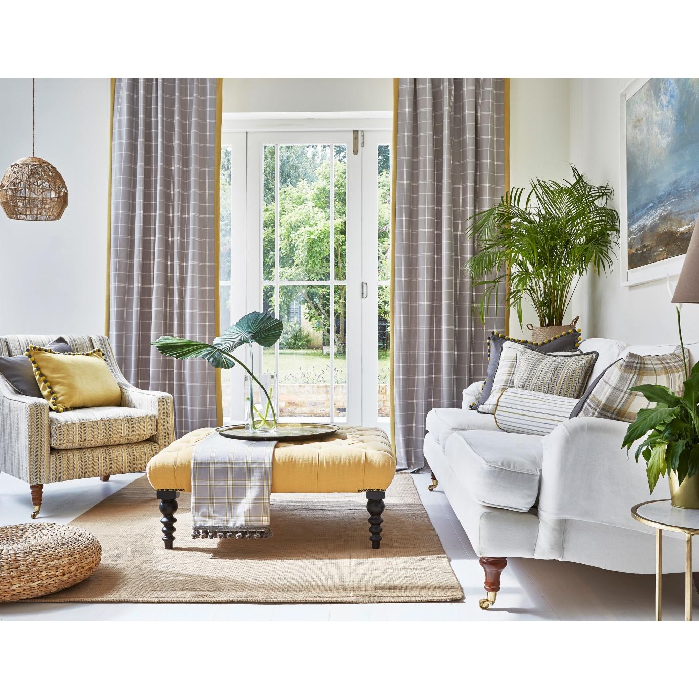 Prestigious Boston Silver Fabric 3814/909