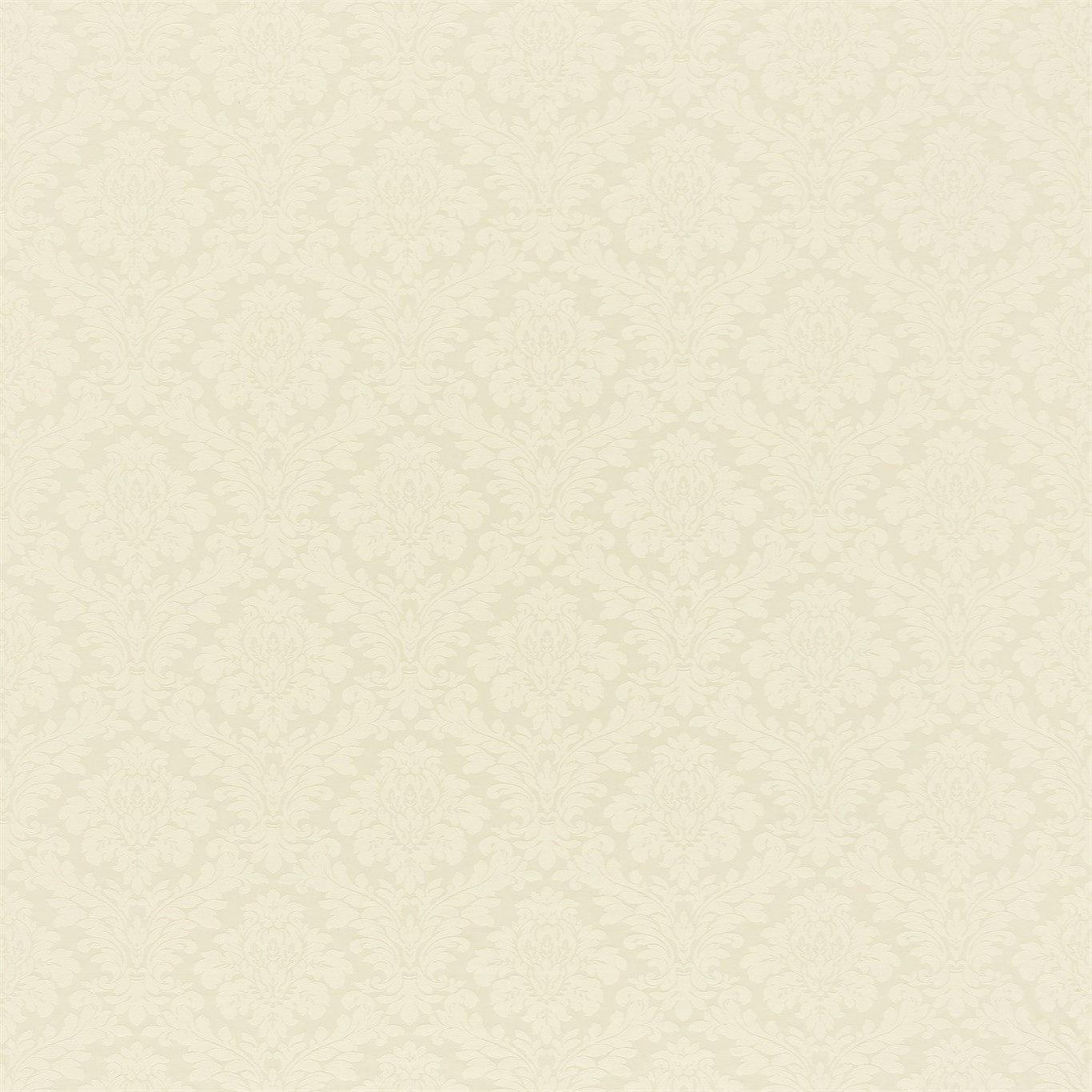 Image of Sanderson Lymington Damask Cream Fabric 232594