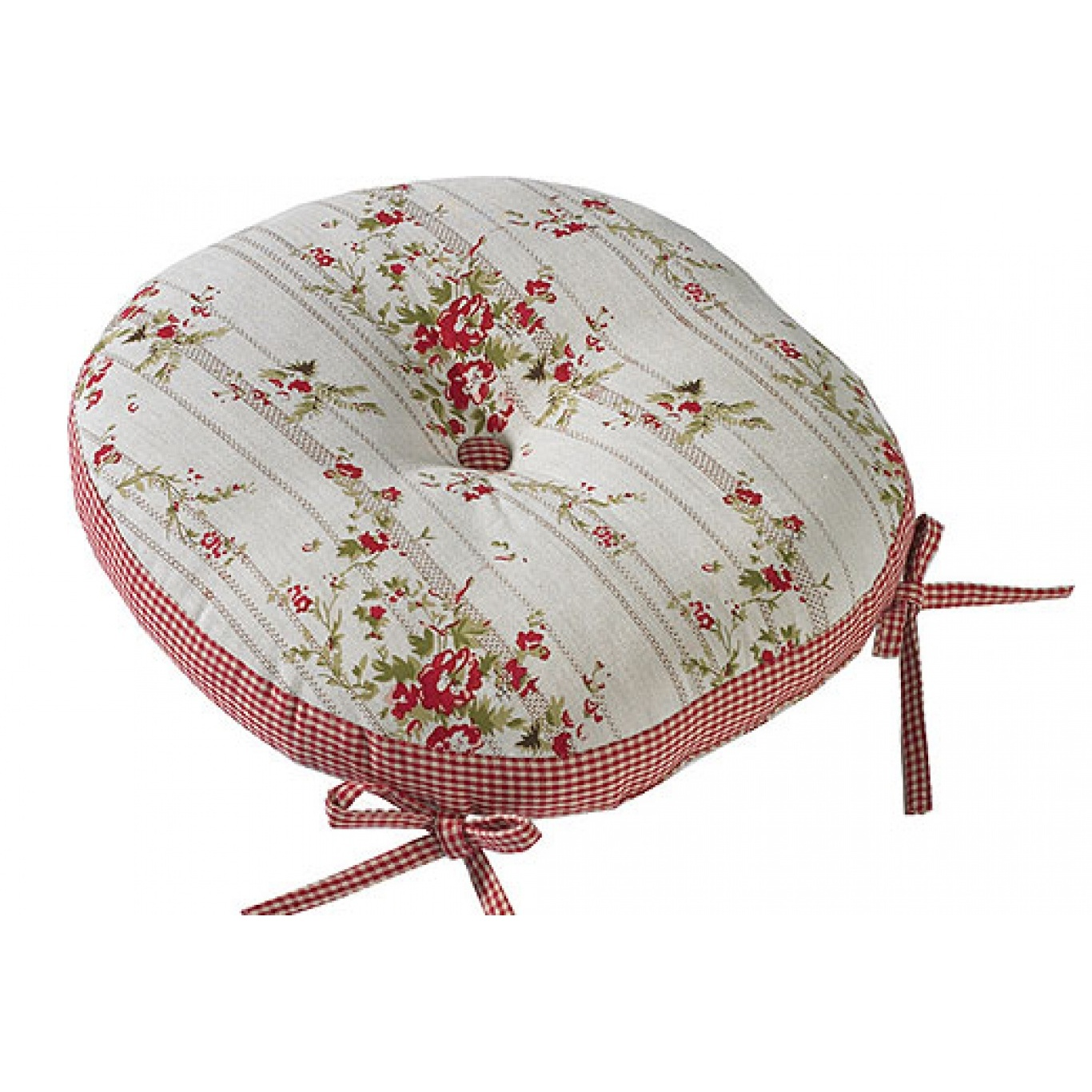 Image of Rose Cottage Round Seat Pad