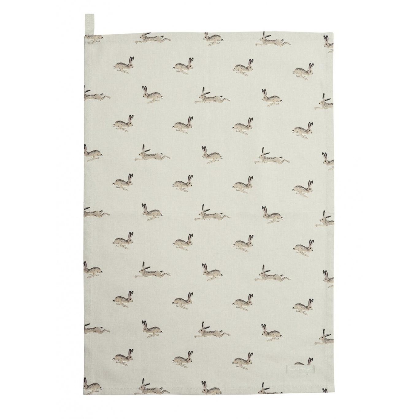 Image of Sophie Allport Hare Tea Towel
