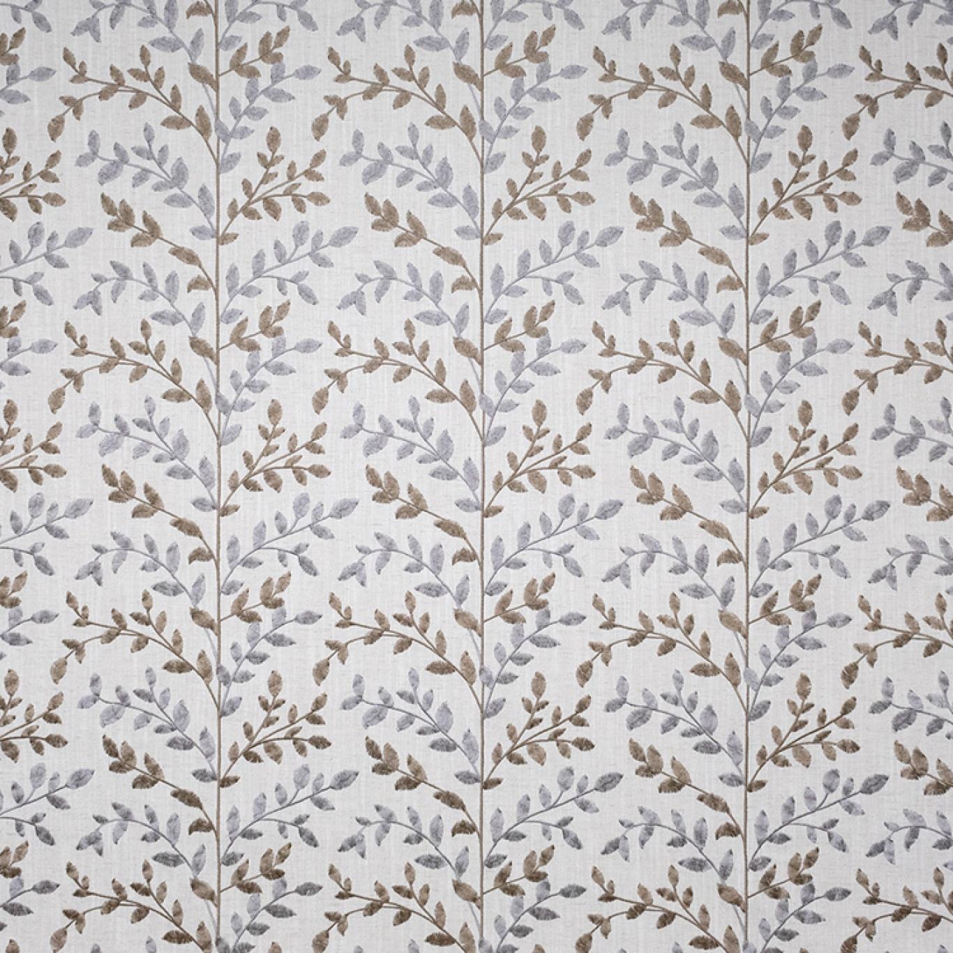 Image of Fibre Naturelle Zoe Peanut / Mink Curtain Fabric ZOE/02