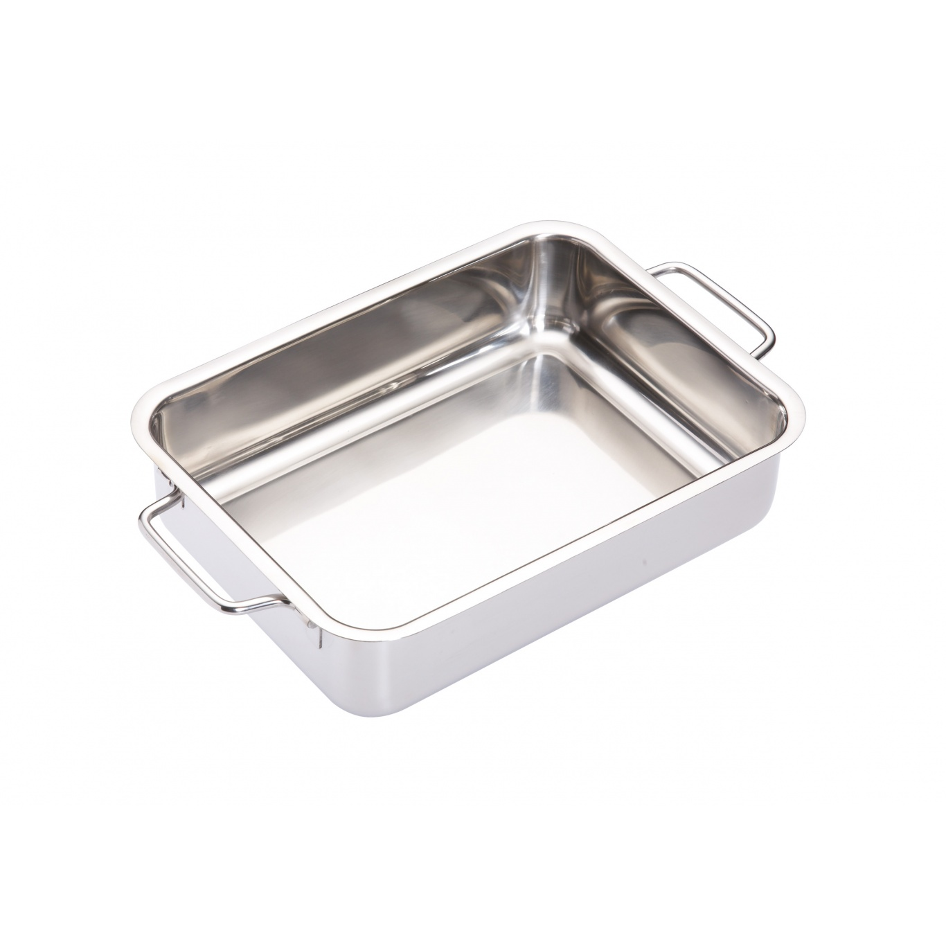 Image of Stainless Steel Heavy Duty Roasting Pan 27cm x 20cm x 6.5cm