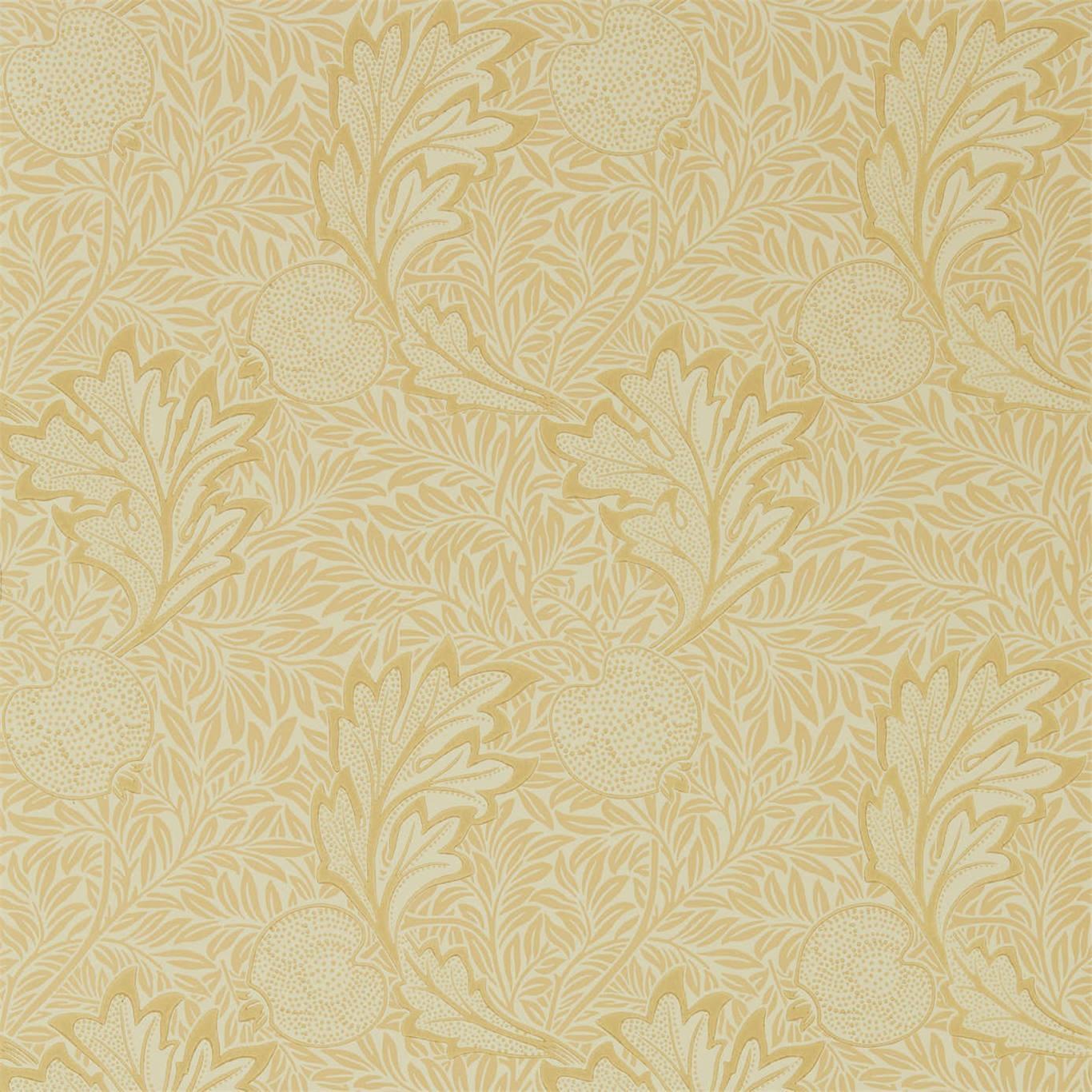 Image of Morris & Co Apple Honey Gold Wallpaper 216691