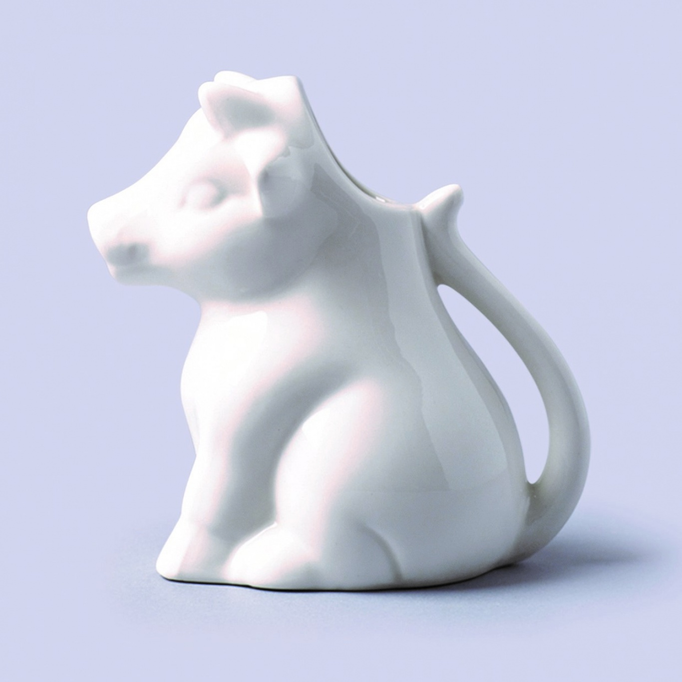 Image of Cow Shaped Milk / Cream Jug