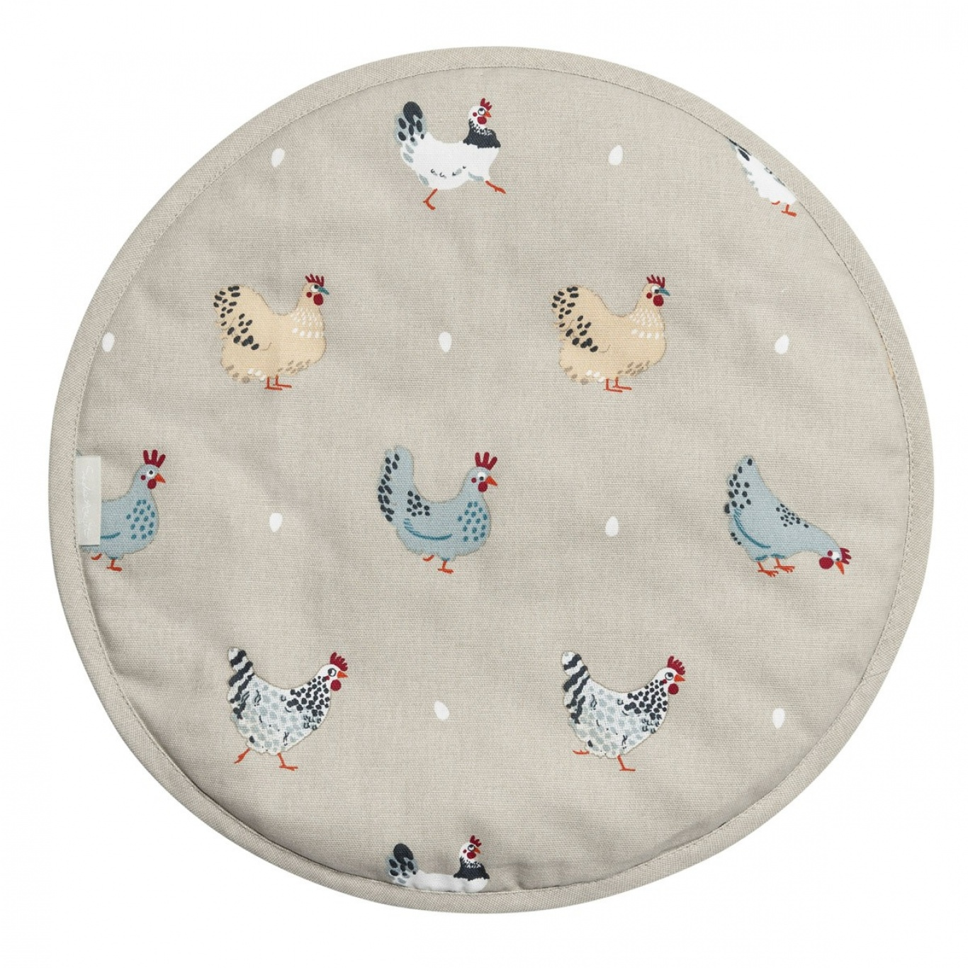 Image of Sophie Allport Lay a Little Egg Round Hob Cover