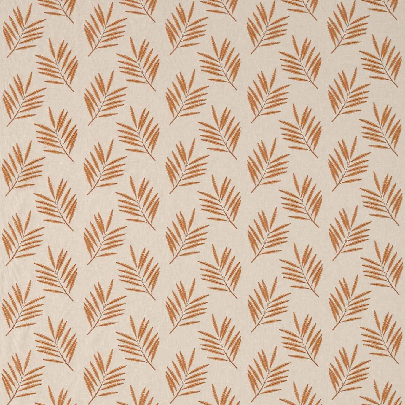 Image of Sanderson Tilton Brick Fabric 236283