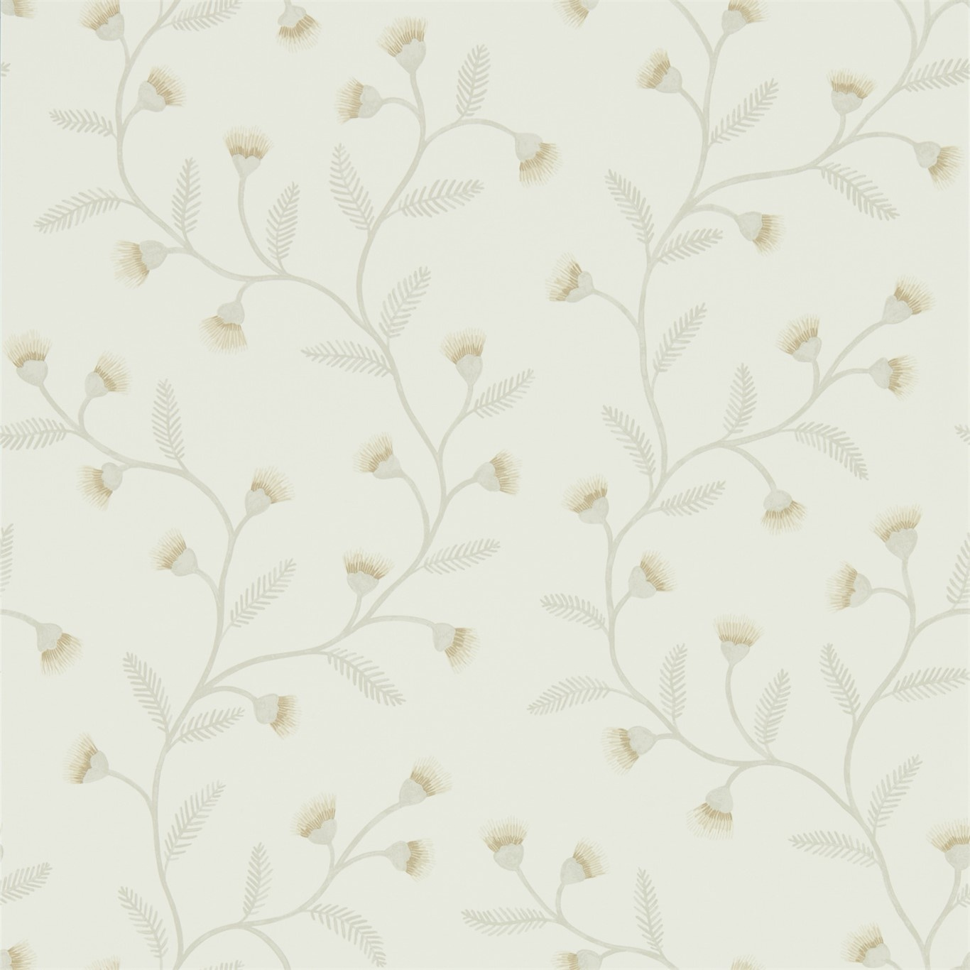 Image of Sanderson Home Everly Linen Wallpaper 216376