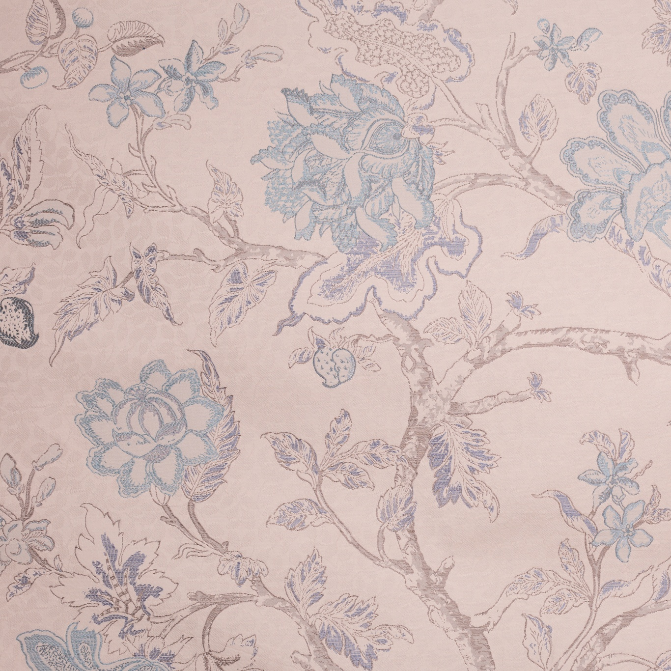 Image of Voyage Hatfield Duck Egg Curtain Fabric