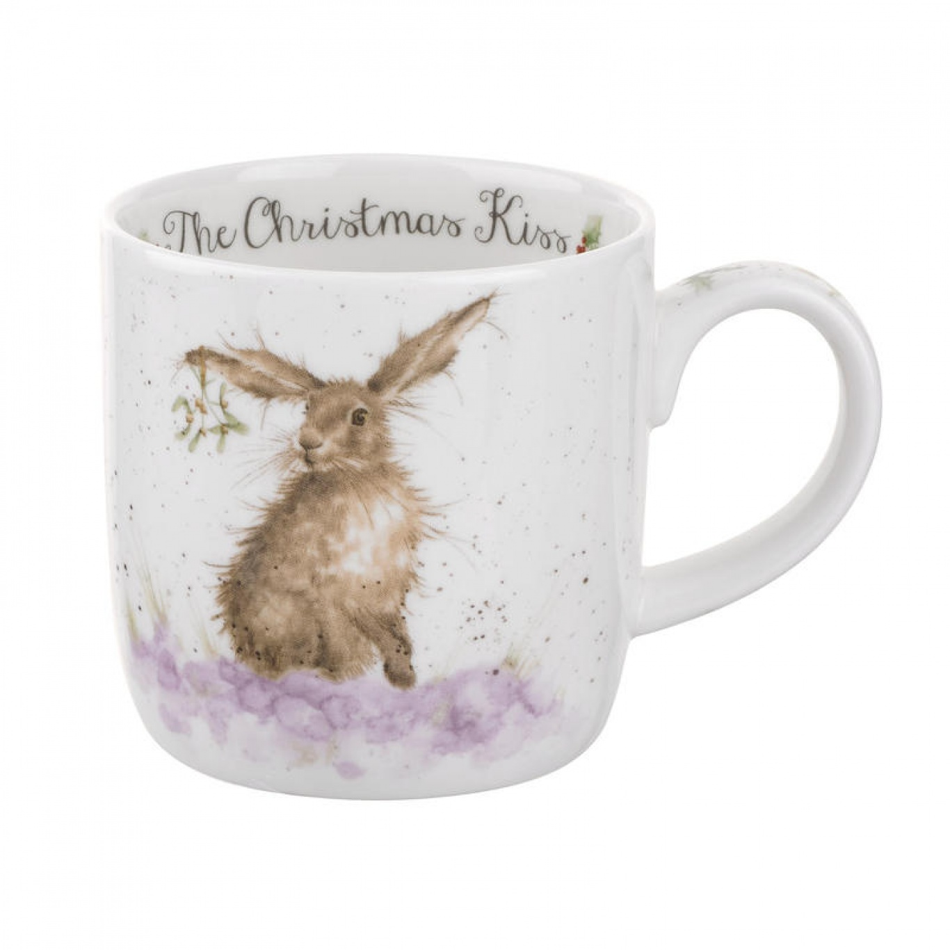 Image of Christmas Kiss Wrendale Mug