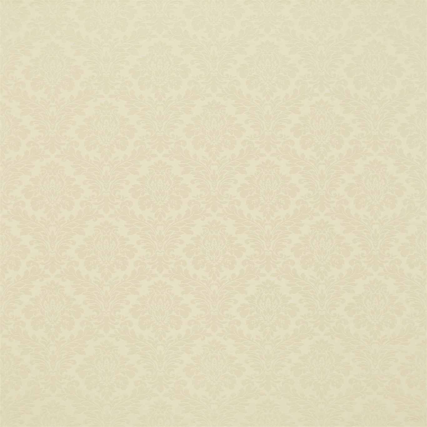 Image of Sanderson Lymington Damask White Clay Fabric 232626