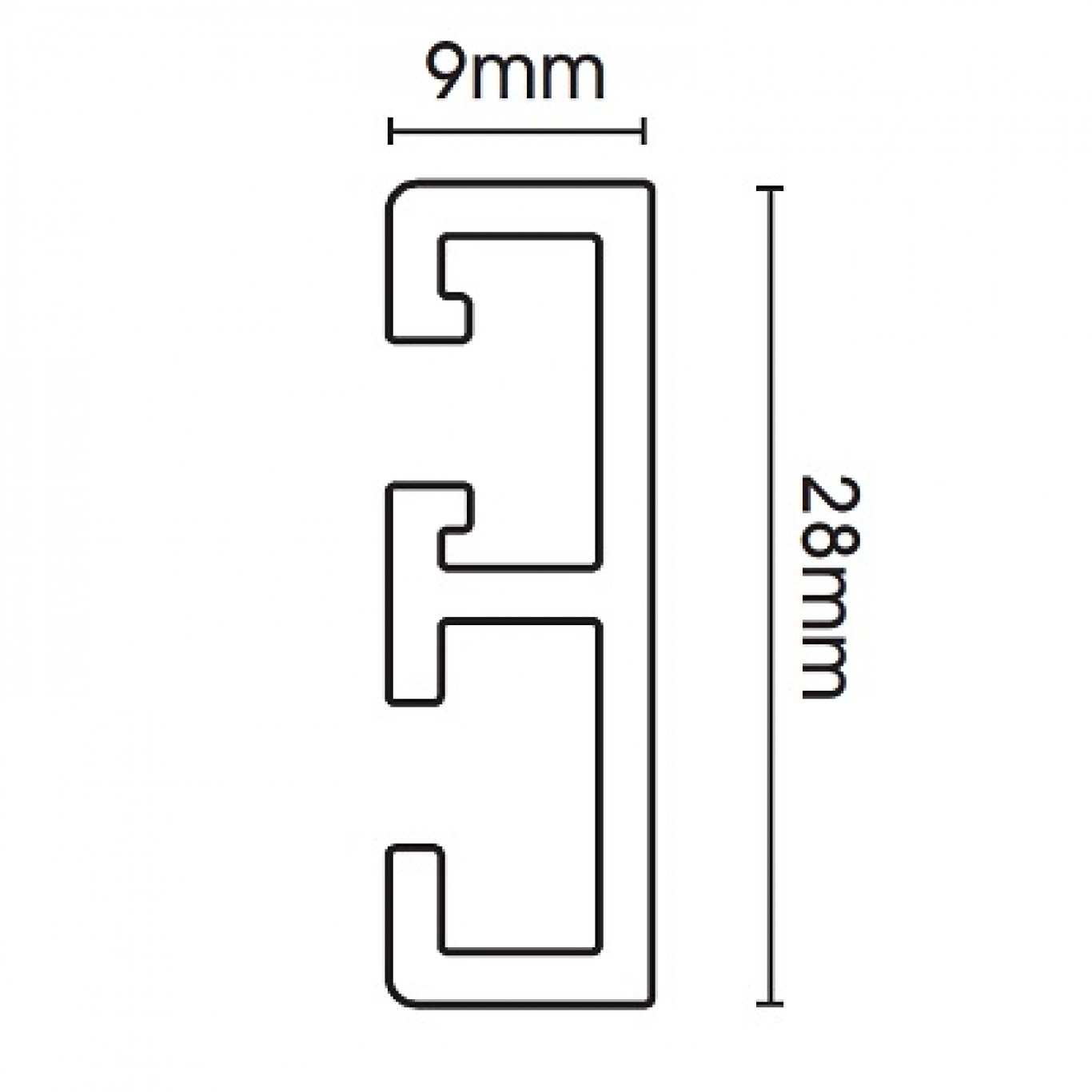 Swish Supreme Glide Track 400cm