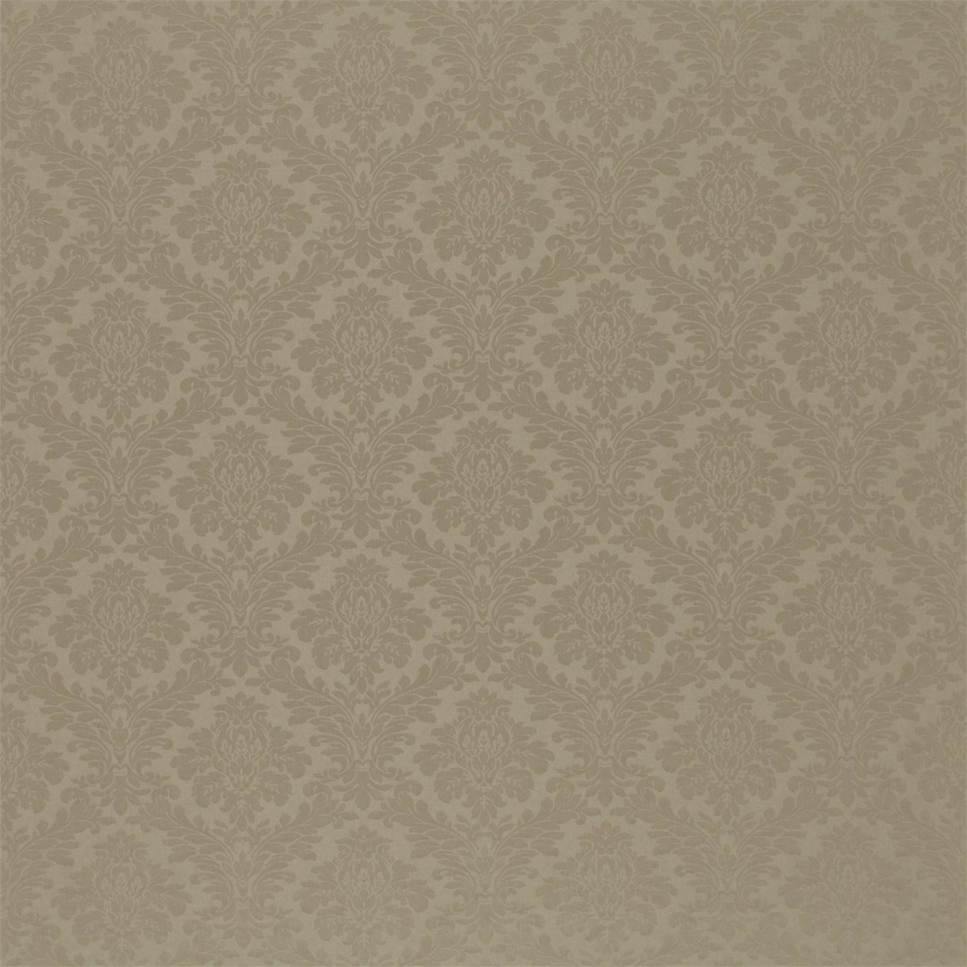 Image of Sanderson Lymington Damask Taupe Fabric 232607