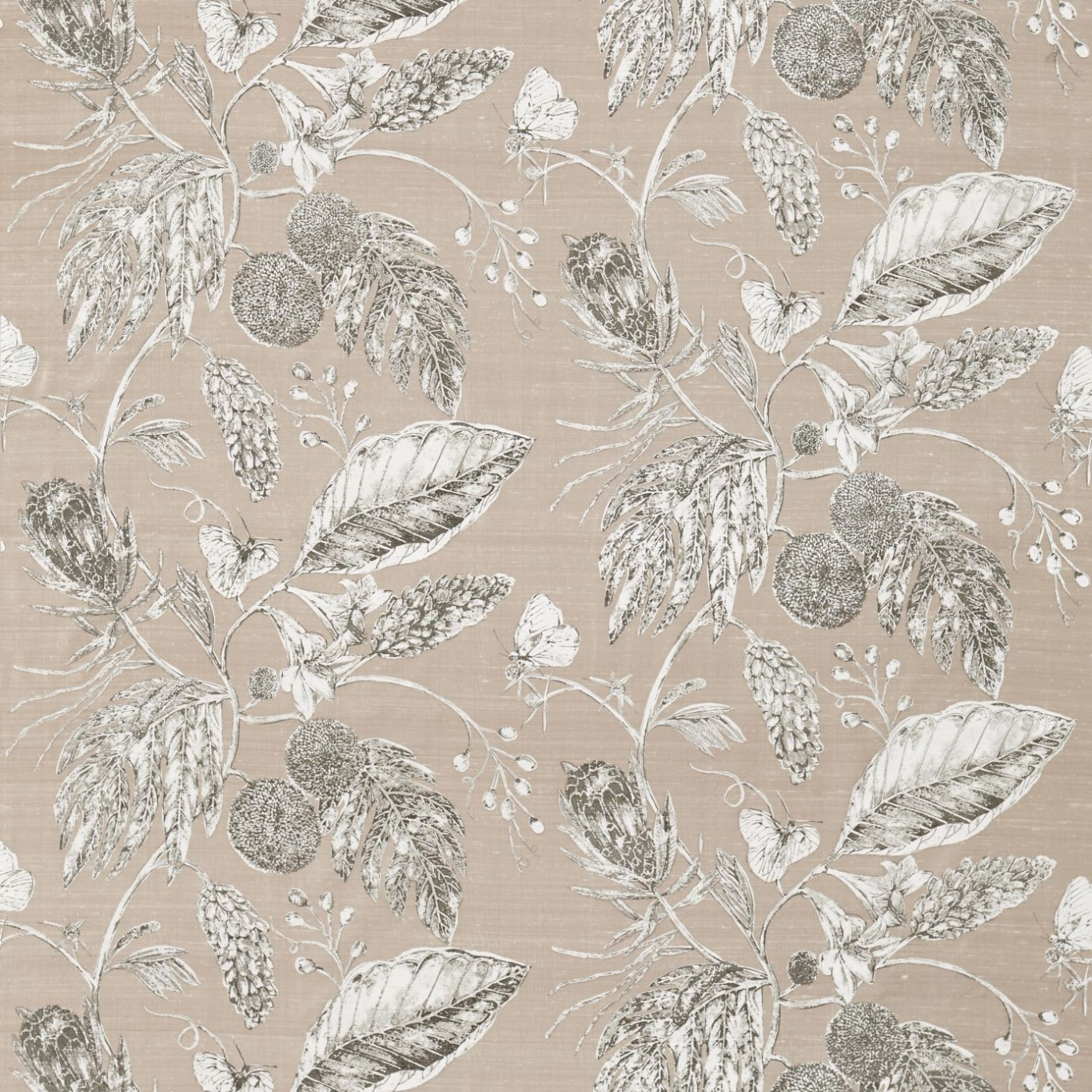 Image of Harlequin Amborella Pebble Curtain Fabric 120421