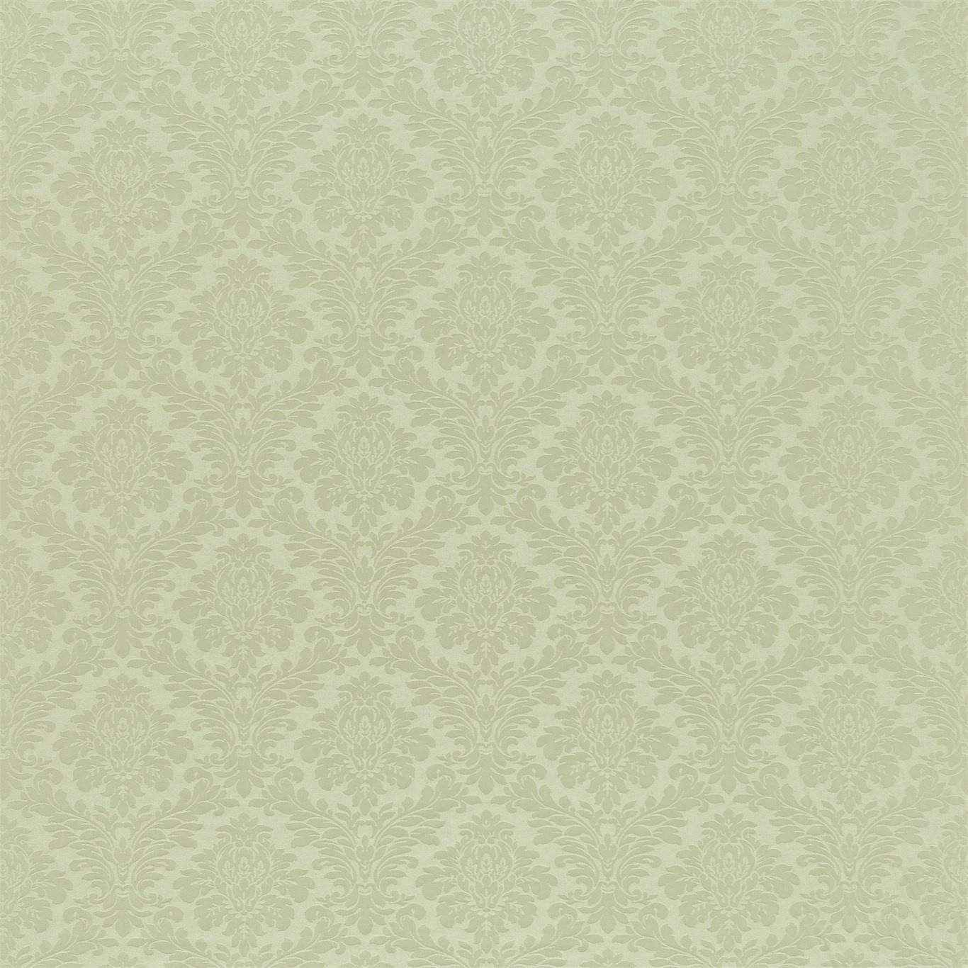 Image of Sanderson Lymington Damask Eggshell Fabric 232599