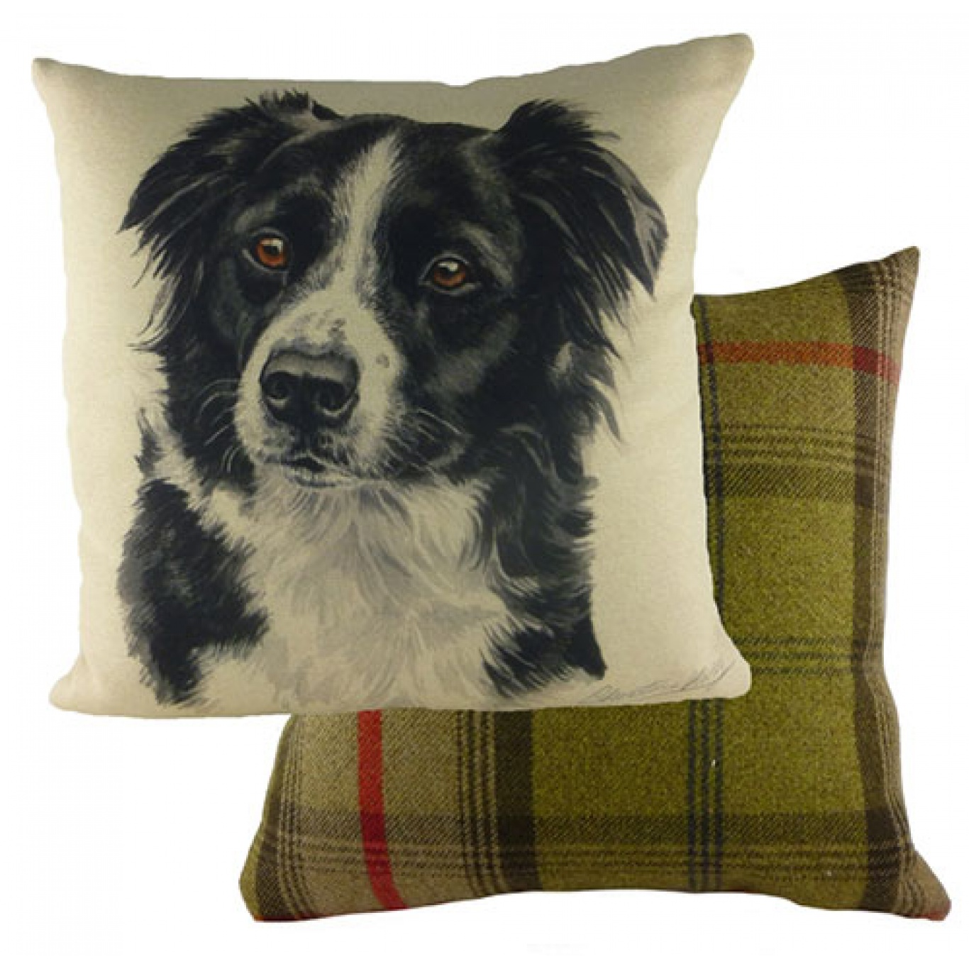 Image of Waggy Dogz Border Collie Cushion Cover