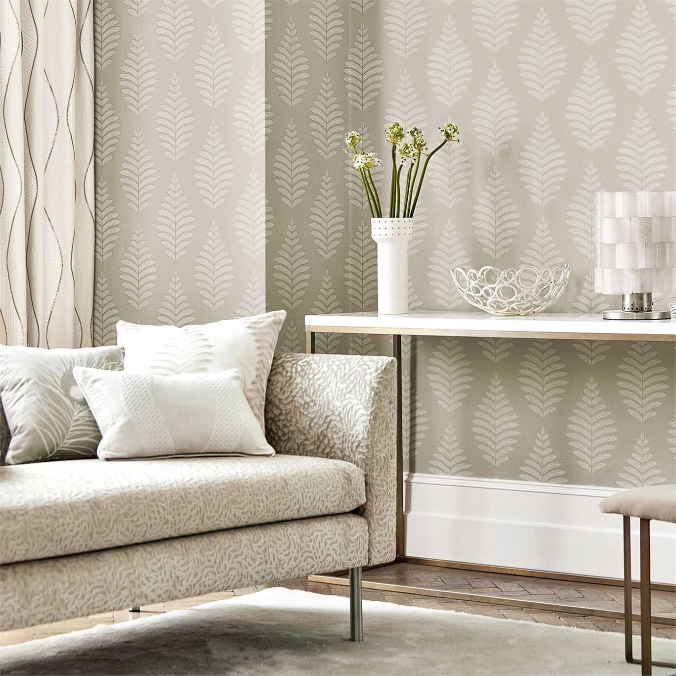 Harlequin Lucielle Chalk/Linen Wallpaper 111896