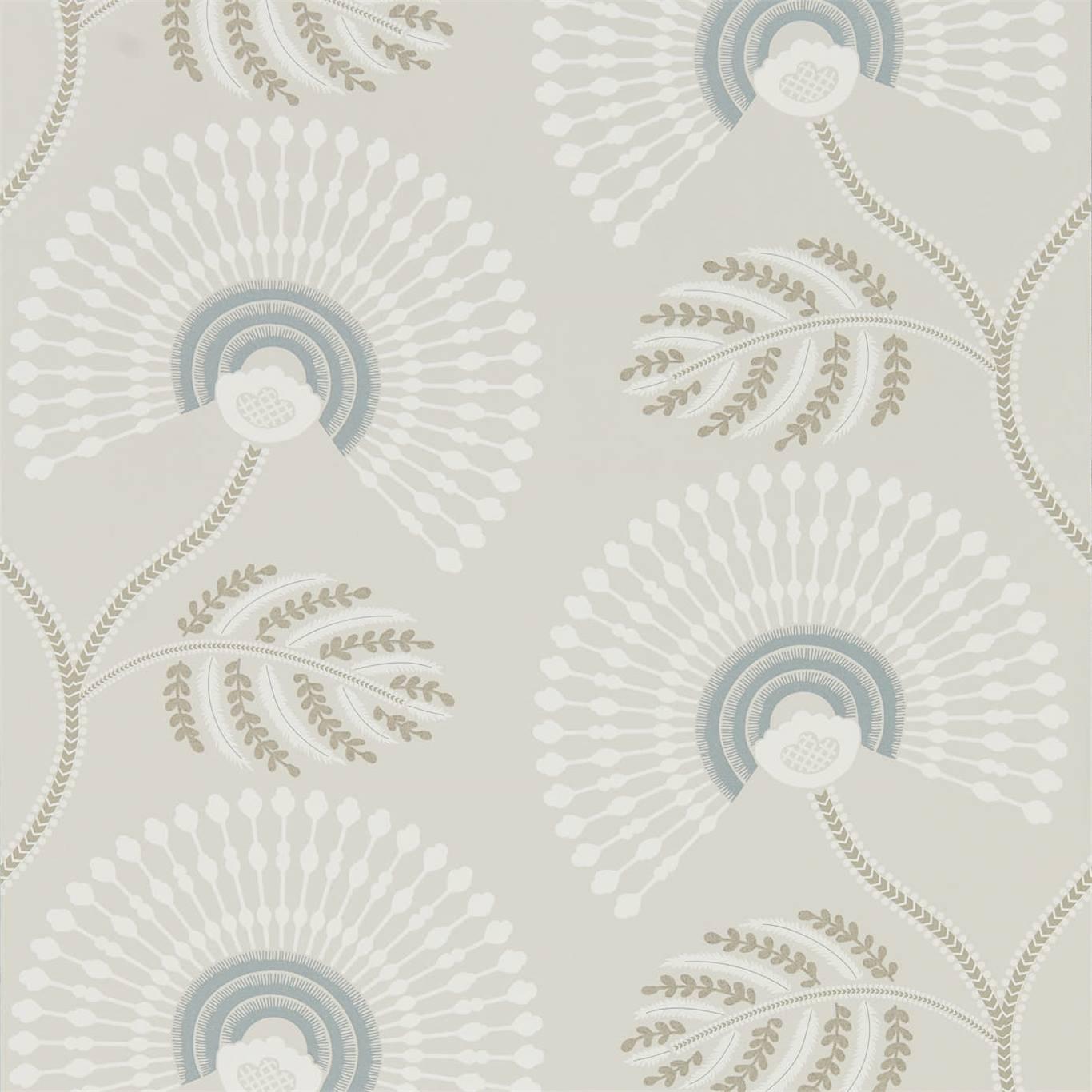 Image of Harlequin Louella Seaglass/Pearl Wallpaper 111910