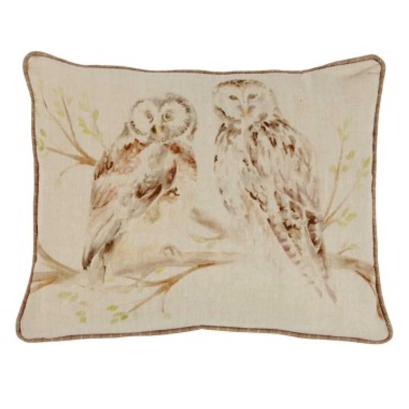 Image of Voyage Wise Owls Cushion