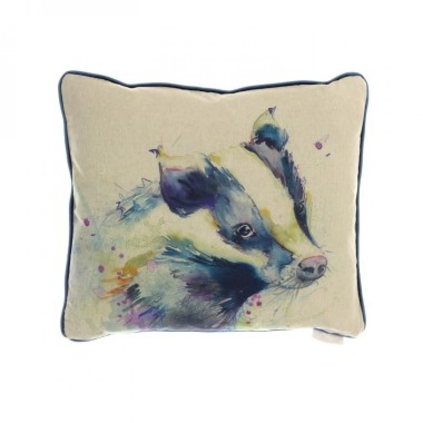 Image of Voyage Badger Cushion