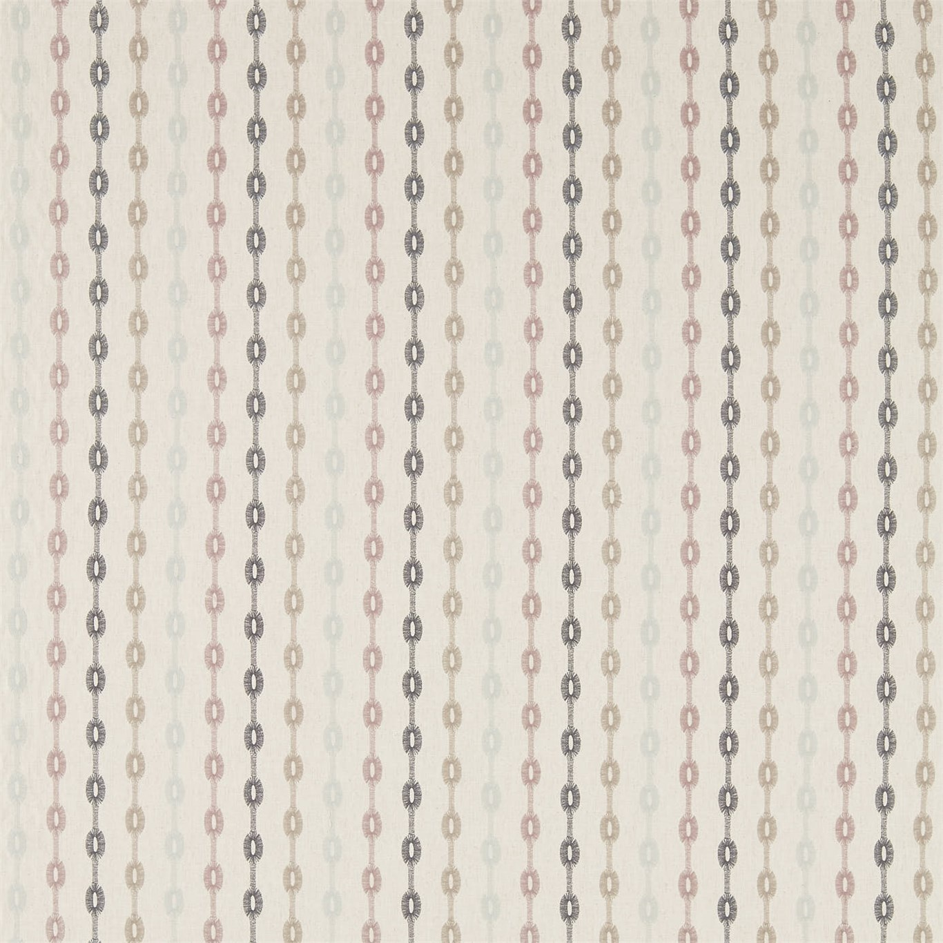 Image of Sanderson Home Shaker Stripe Mineral Curtain Fabric 235888