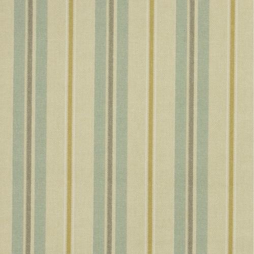 Gordon Smith Tweet Stripe Mint Curtain Fabric
