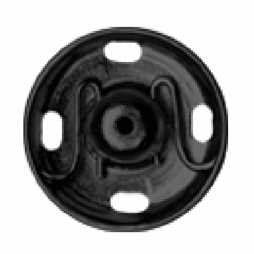 Black Sew-on Snap Fasteners | 9mm