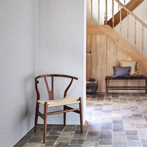 Morris & Co Pure Scroll Lightish Grey Wallpaper 216544