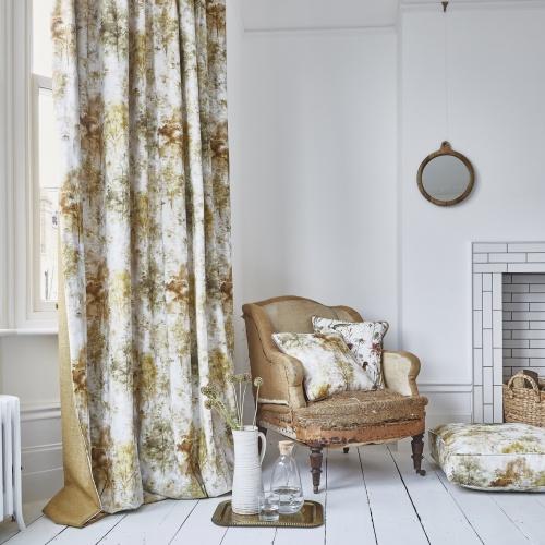 Prestigious Woodland Auburn Fabric 8642/337