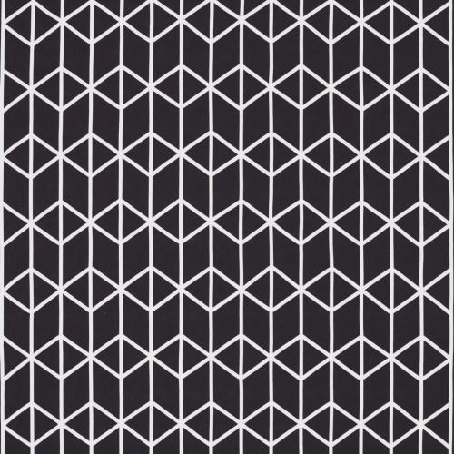 Scion Nendo Liquorice Curtain Fabric 131820