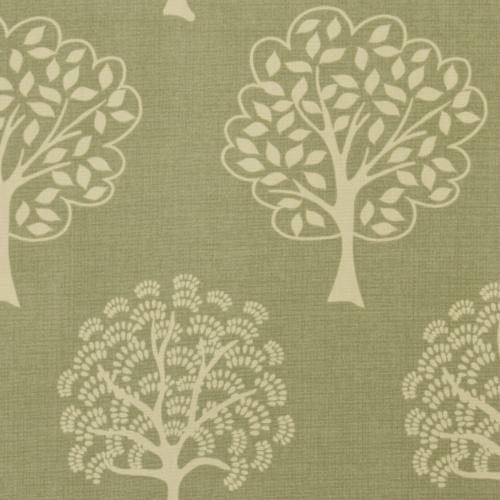 Gordon Smith Arbre Green Curtain Fabric