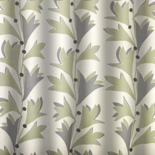 Gordon Smith Scandi Green Curtain Fabric