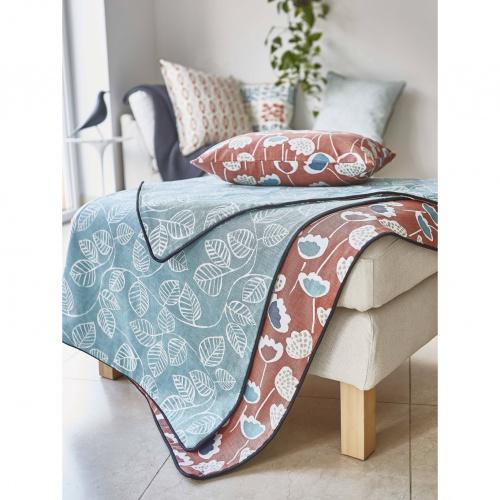 Prestigious Clara Coral Reef Fabric 5056/432