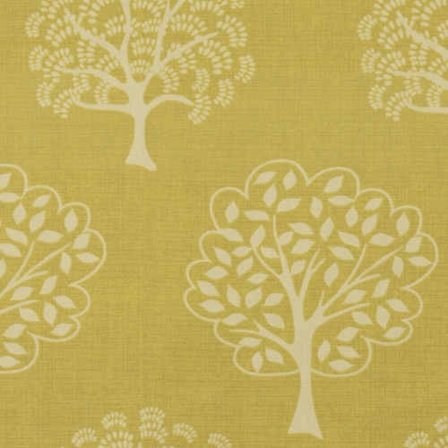 Gordon Smith Arbre Gold Curtain Fabric