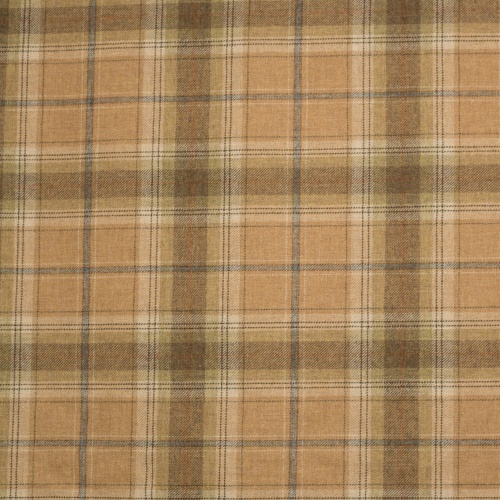 Chess Designs Balmoral Wild Oat Fabric