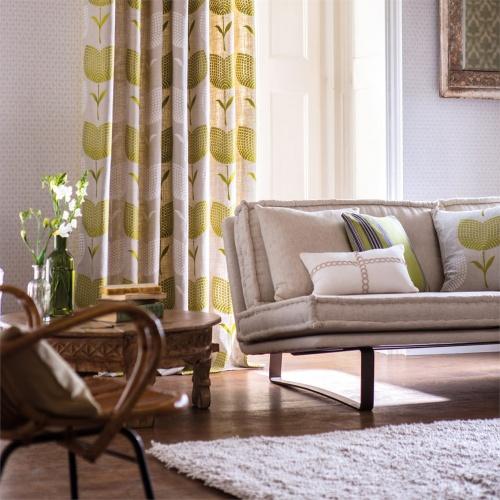 Harlequin Lolita Apple/Linen Curtain Fabric 120275