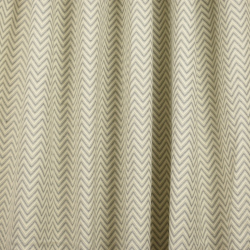 Gordon Smith Large Herringbone Grey Fabric