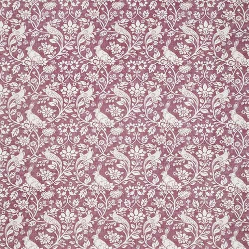 Swatch Box Heathland Elderberry Curtain Fabric