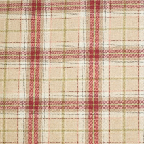 Chess Designs Balmoral Raspberry Fabric