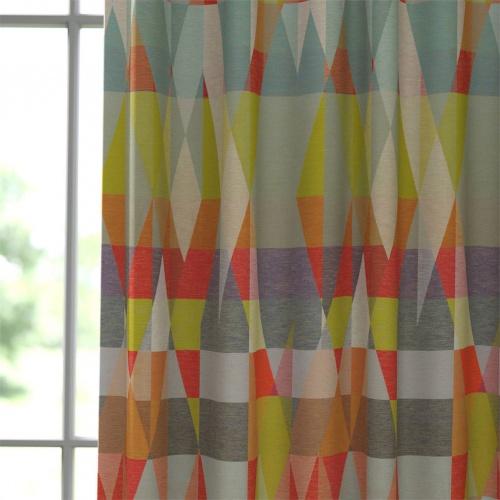 Scion Axis Tangerine / Citrus Fabric 133523