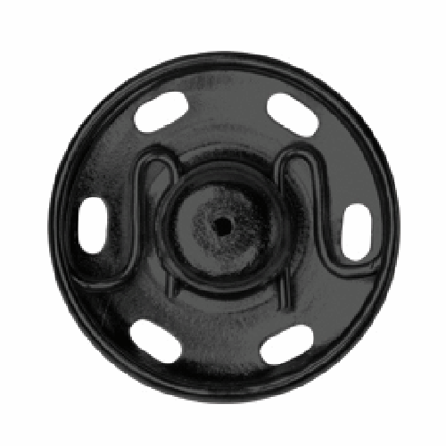 Black Sew-on Snap Fasteners | 18mm