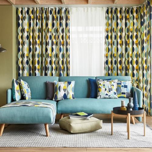 Prestigious Mabel Bluebell Fabric 5095/768