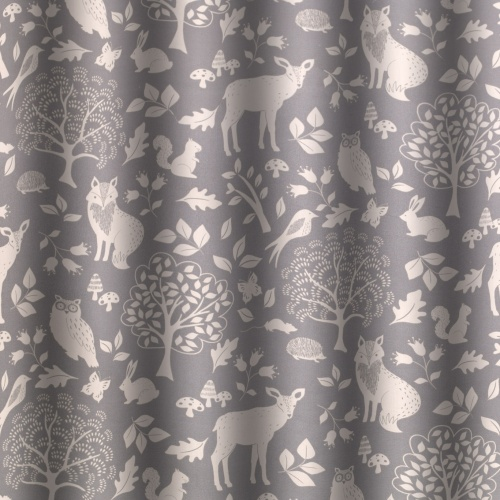 Gordon Smith Outback Grey Curtain Fabric
