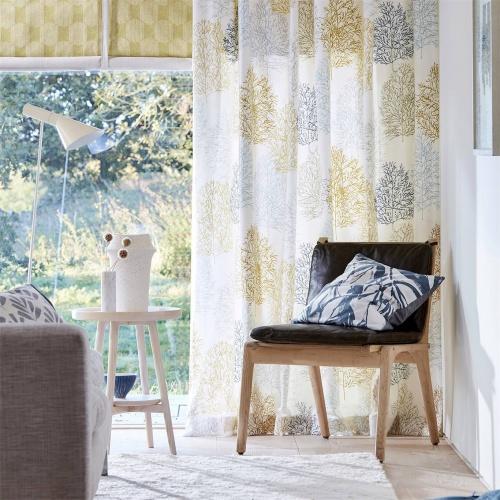 Scion Soetsu Stonewash/Papaya Fabric 120777