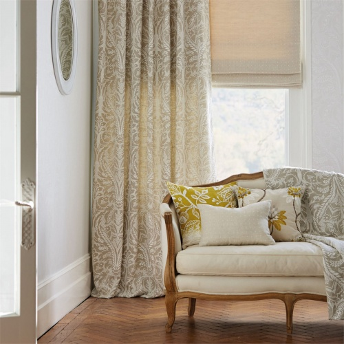 Harlequin Florence Oatmeal Curtain Fabric 131547