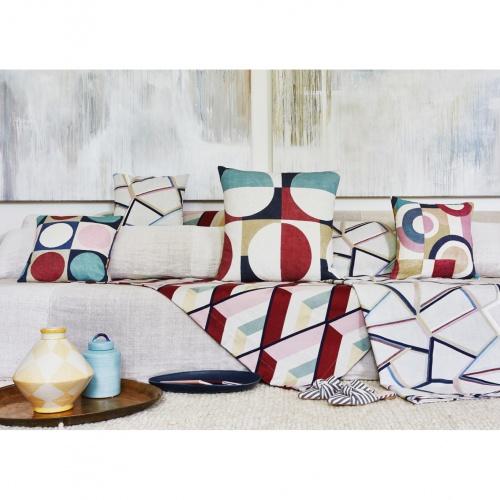 Prestigious Tetris Auburn Fabric 3793/337