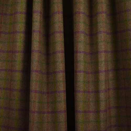 Abraham Moon Balvaird Grape Fabric